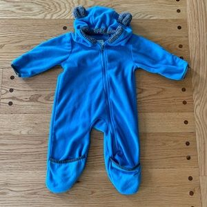 Other - Like-new Cuddle Club fleece body suit. 6-12 months